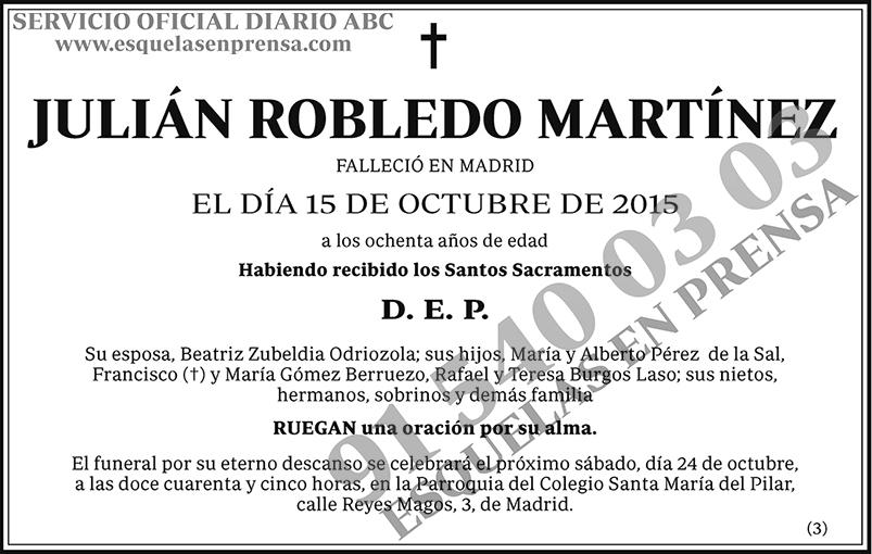 Julián Robledo Martínez